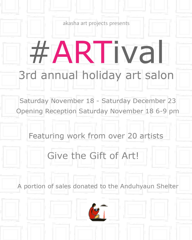 #ARTival Holiday Art Salon